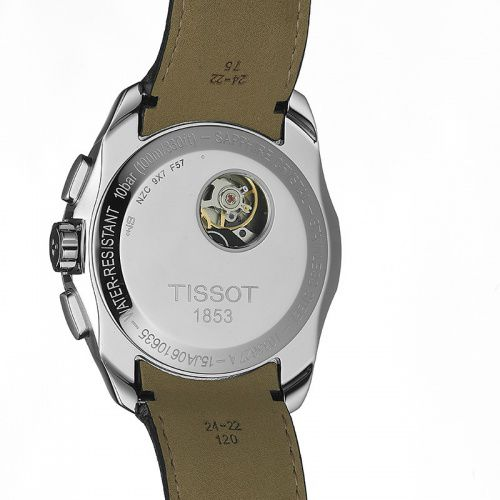 TISSOT COUTURIER AUTOMATIC CHRONOGRAPH - T0356271605100 фото 4
